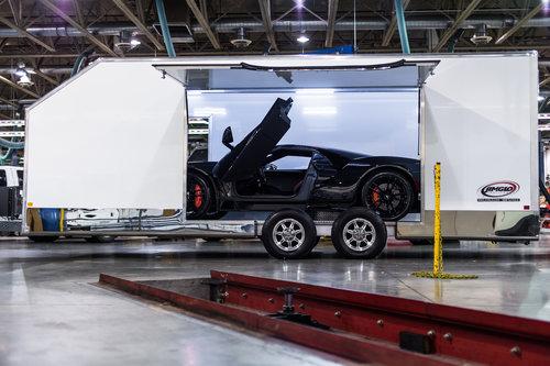 JIMGLO Elite Ultimate Enclosed Car Trailer