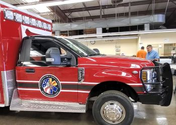 fire truck spot after