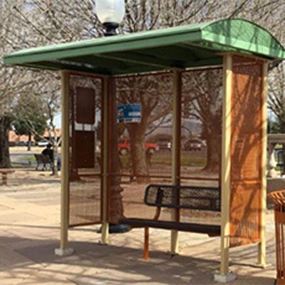 City of Tucson Bus Shelter